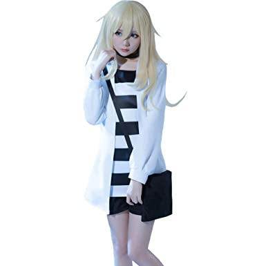 Amazon.com: COSPROFE Anime Ray Rachel Gardner Cosplay Costume Womens  Halloween Full Set Outfit: Clothing