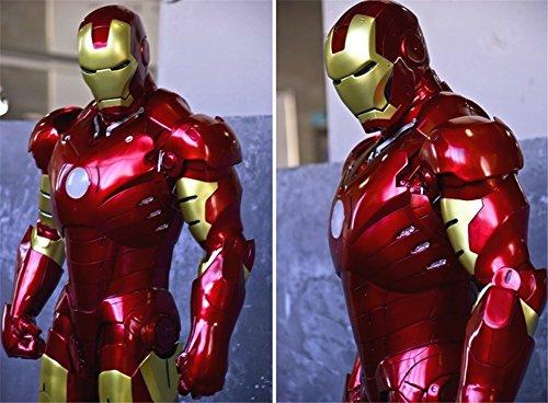 Gmasking Iron Man MK3 Light Up Statue Scale 1:2 Replica (Gmasking Iron Man compare prices)