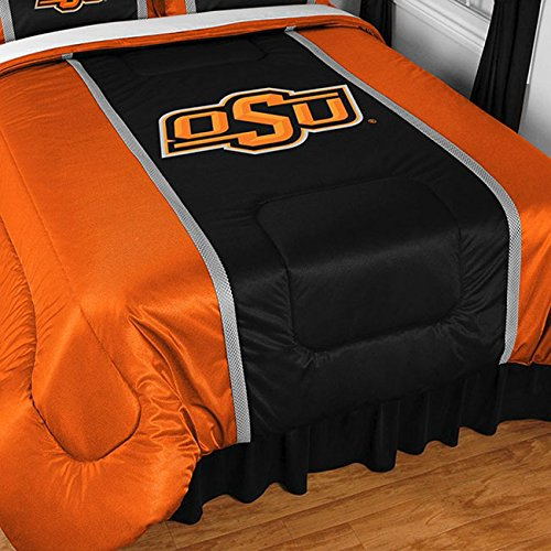 NCAA Oklahoma State Cowboys Sidelines Comforter, Twin, (Cowboys Ncaa Comforter)