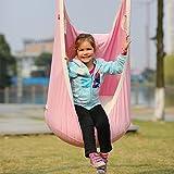 Leiyini Kids Pod Swing Chair Hanging Swing Seat Indoor Outdoor Nook Tent for Children