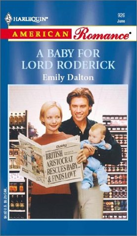 book cover of A Baby for Lord Roderick