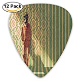 Newfood Ss Fashion Man With Gas Mask Fancy Suit Before Retro Wall Kitsch Art Guitar Picks 12/Pack Set