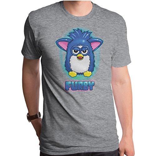 Furby Air Short Sleeve Men's Crew Tee Medium