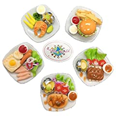 This is beautiful detail, high quality & very realistic work on the dollhouse miniature foods. You can use it to decorate the Doll House or your craft or playing the dolls and perfect for restaurant, coffee shop and your home decoration. ...