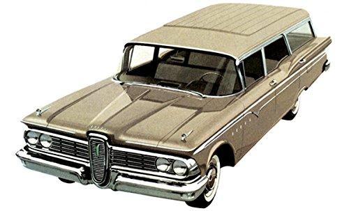 1959 Ford Edsel Villager 9-Passenger Station Wagon - Promotional Advertising (Edsel Villager)