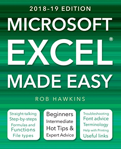 Made Easy Software - Microsoft Excel Made Easy (2018-19 Edition)