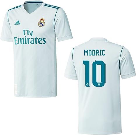 adidas Real Madrid Camiseta Home Niños 2018 – Modric 10, 140 ...