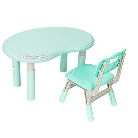 juego de mesa y silla Escritorio de elevación para el hogar, niños ...