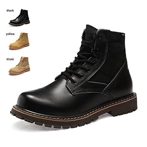 ENLEN&BENNA Women&Men's Desert Boots Military Boots Work Tactical Combat Boot Composite Toe Casual Boots Fashion Shoes