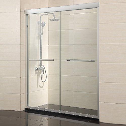 (Mecor Frame Sliding Shower Door, 60