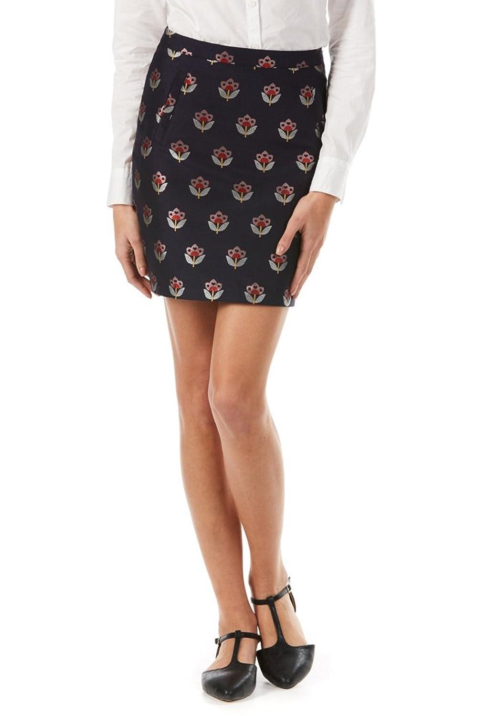 Sugarhill Boutique Women's Evra Floral Love Print Skirt
