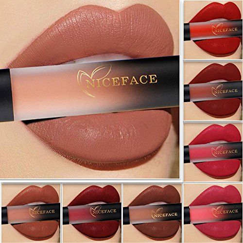 2018 Lip Glosses Professional Girls Make-up Lipstick Long-lasting for Women by TOPUNDER B