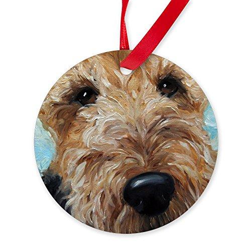 CafePress Best Friend Round Christmas Ornament