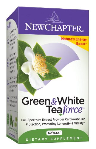 New Chapter Vert & Force thé blanc, 60 Capsules