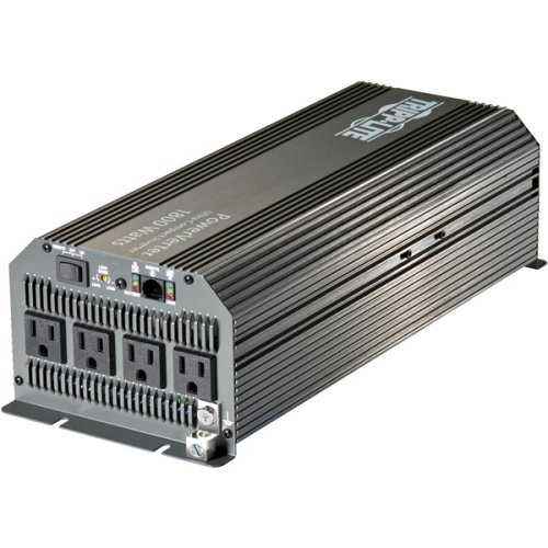 Tripp Lite Power Compact Inverter, 1800W, 12VDC, 120V, 5-15R, 4 Outlets for Automobiles, RVs, Trucks, Fleet Vehicles & Emergency Vehicles  (PV1800HF) by Tripp Lite