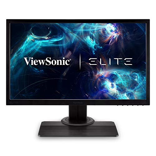 ViewSonic Elite XG240R 24 Inch 1080p 1ms 144Hz RGB Gaming Monitor with FreeSync Eye Care Advanced Ergonomics for Esports