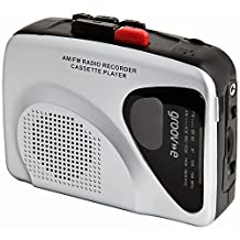 Retro Series Personal Cassette Player/Recorder with Radio