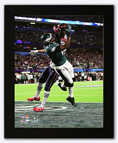 89327690511 Image Unavailable. Image not available for. Color: Philadelphia Eagles  Alshon Jeffrey Scores a Touchdown During Super Bowl 52 Framed 8x10 ...