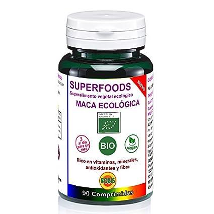 Robis Superfoods Maca Bio Vitaminas para Veganos - 90 Cápsulas