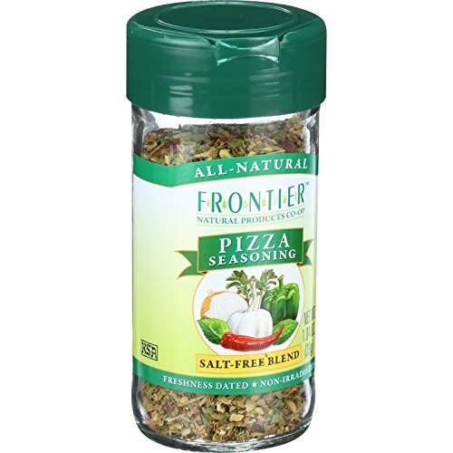 Frontier Flakes Garlic (Frontier Herb Organic Saltless Pizza Seasoning - Seasoning Blend, 1.04 Ounce - 6 per case)