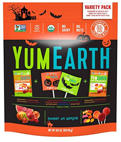 YumEarth Hallween Limited Edition Organic Gummy Candy Pack