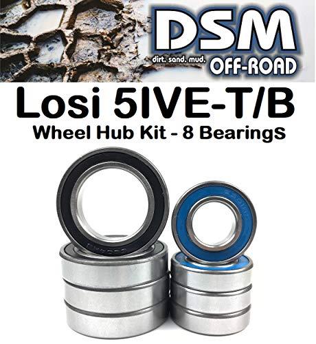 Elements Series Wheel Hub Bearing Kit Set (8 Bearings) ()