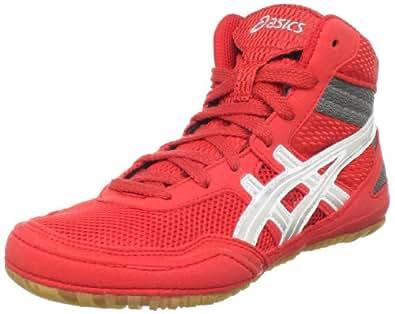 Asics Men S Matflex  Wrestling Shoe Red Us