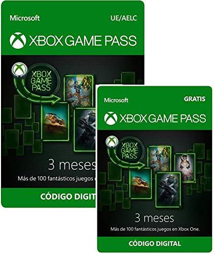 Suscripción Xbox Game Pass - 3 Meses + 3 Meses GRATIS | Xbox ...
