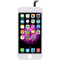iPhone 6 Screen Replacement White LCD Premium Repair Kit with Tools - Easy Manuals Videos and Instructions - FOR iPHONE 6 NOT 6S with USB Car Charger from uRepair