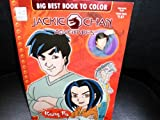 Jackie Chan Adventures: Big Best Book to Color