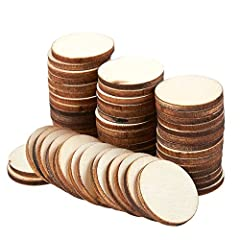 Bring a natural touch to any indoor setting with these wooden circle slices. Whether you want to use them as mere decorations or let the creativity flow and paint various colors, designs and pictures onto the surface, these wooden slices are ...
