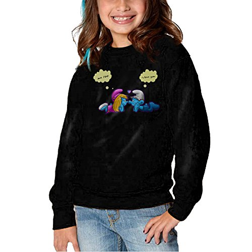 [Melon The Smurfs Long Sleeve Round Neck Lovely Sweatshirts Shirts For Toddler Kids] (Roomba Costume Pattern)