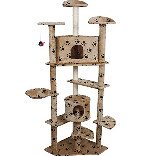 beige-paws-new-80-cat-tree-condo-furniture-scratch-post-pet-house