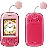 京セラ 白ロム 携帯電話 mamorino3 ピンク