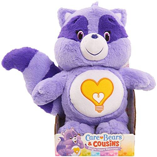Care Bear Cousins Bright Heart Raccoon Medium Plush