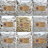 Vegan Plant Fibers for Spinning Blending Dyeing. Rare Exotic Variety Pack for the Curious Spinner