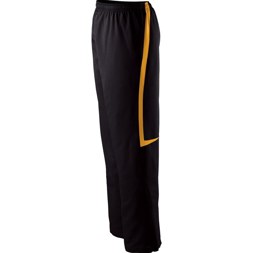 Holloway Dictate Pants (X-Small, Black/Light Gold)