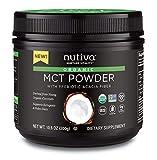 Nutiva Organic MCT Powder with Prebiotic Acacia Fiber, 300g - Best Reviews Guide