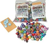 2 (Two) ''Pound of Dice'' Assorted Dice By Chessex
