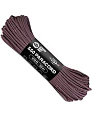 Atwood Rope MFG Color Changing 550 Paracord 100 Feet 7-Strand Core Nylon Parachute Cord Outside Survival Gear Made in USA | Lanyards, Bracelets, Handle Wraps, Keychain