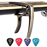 Donner DC-2 One Handed Trigger Guitar Capo for