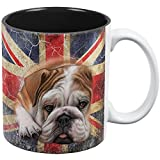 English Bulldog Union Jack Flag Live For