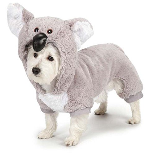 [Defonia Zack & Zoey KOALA BEAR Pet Dog Halloween Costume XS - XL ADORABLE!] (Bear Dog Costume)