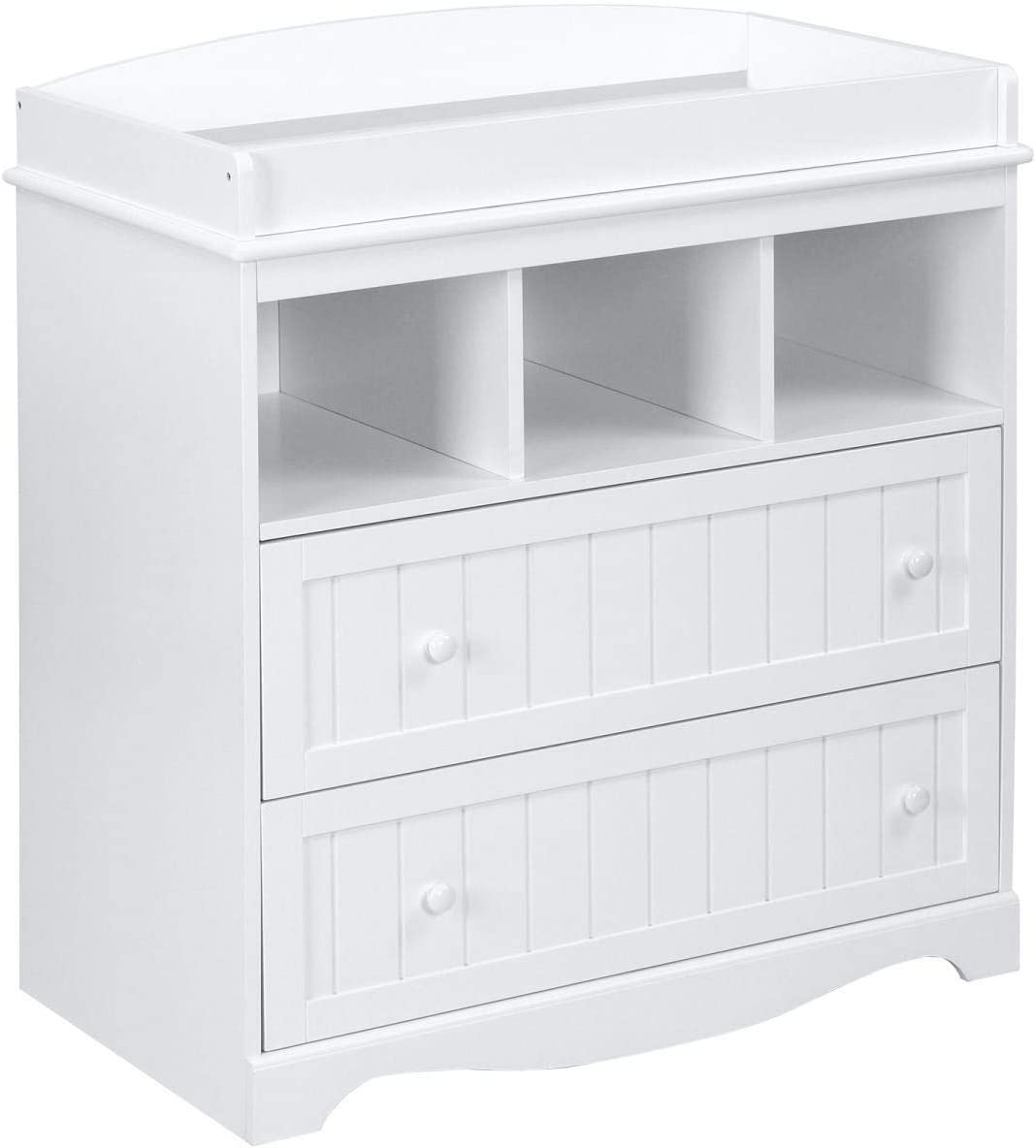 Ikea Malm as changing table September