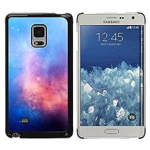 Mezcla de Coloful de las fuerzas - Metal de aluminio y de plástico duro Caja del teléfono - Negro - Samsung Galaxy Mega 5.8