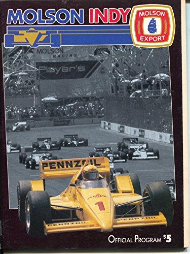 Toronto Road Course CART Indy Car Race Program 1989-Molson Indy-VF/NM