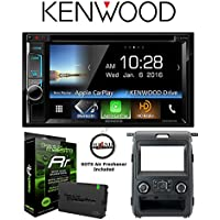 Kenwood DDX6903S DVD Receiver w/ Ford Kit ADS-KIT-F150 and ADS-MRR Steering Wheel Control Interface with a FREE SOTS Air Freshener Included