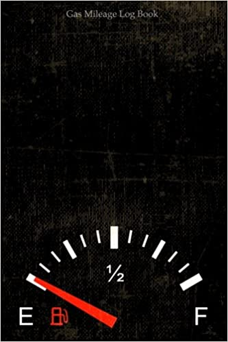 gas mileage log book vehicle maintenance tracker car dash log