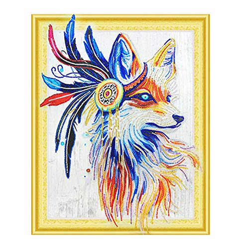 QHB Diamond Painting 5D Rhinestone Pasted Embroidery Special Shaped Christmas Painting Cross Stitch Home Decor 16x20Inch