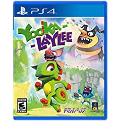 Yooka-Laylee is out now for Xbox One, PlayStation 4, PC, Mac and Linux from Playtronic